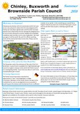 Summer 2018 Newsletter now published!
