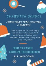 Christmas Lights Switch On - Buxworth