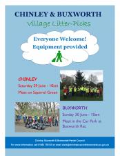 Village Litter-Picks in Chinley and Buxworth
