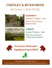 Autumn Litter-Picks in Buxworth and Chinley