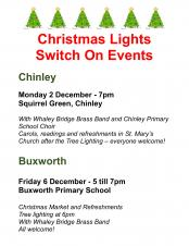 Christmas Lights Switch On Events