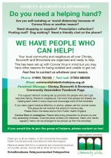 Community help available in wake of Coronovirus outbreak