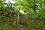 Image: Chinley Footpath No 22